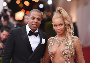 Jay Z and Beyonce attend benefit gala at the Metropolitan Museum of Art in New York City. (Photo: Mike Coppola/Getty Images)