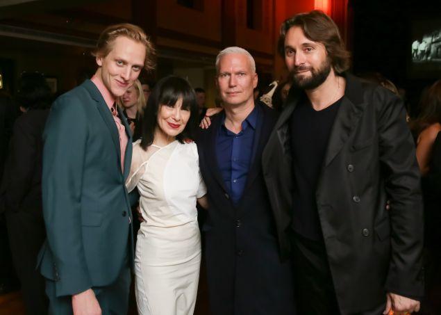 David Hallberg, RoseLee Goldberg, Franchesco Vezzoli, Klaus Biesenbach,