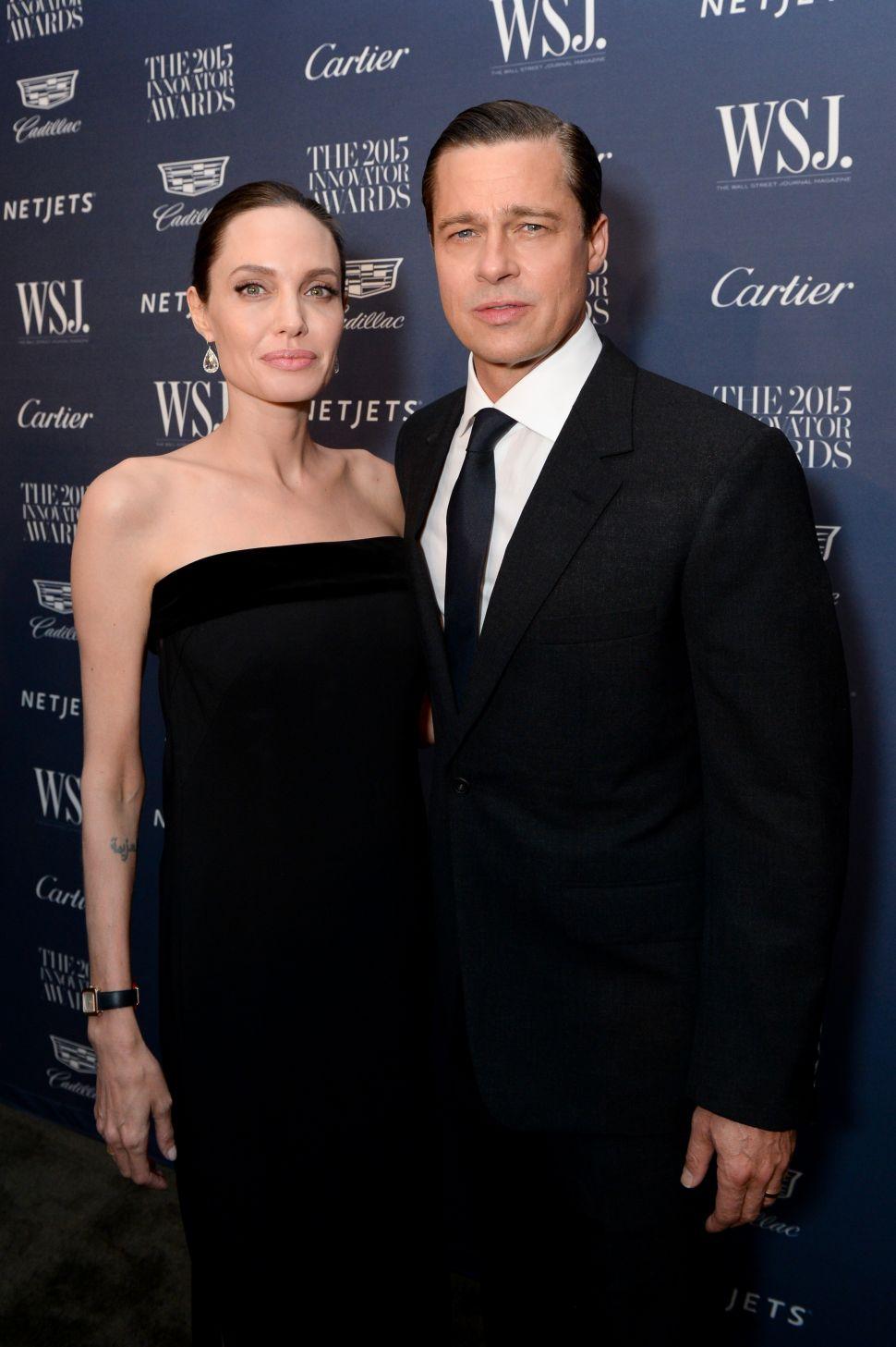 Angelina Jolie Pitt, Brad Pitt (Photo: BFA).