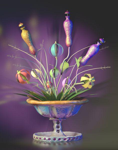 Jeremy Cotillard, Bouquet #1 (tan), 2015. (Photo: Courtesy of Louis B. James)