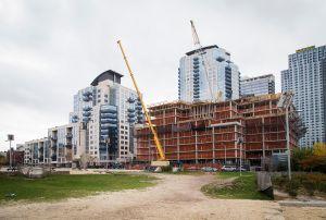 Perpetual development in Williamsburg. (Kaitlyn Flannagan for Observer)