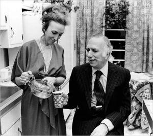 Gurley Brown in her Beresford kitchen.