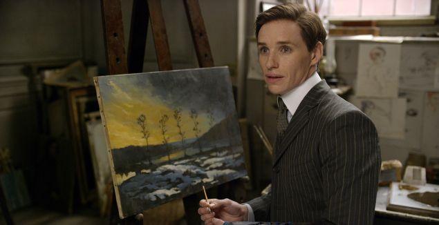 Eddie Redmayne in The Danish Girl.