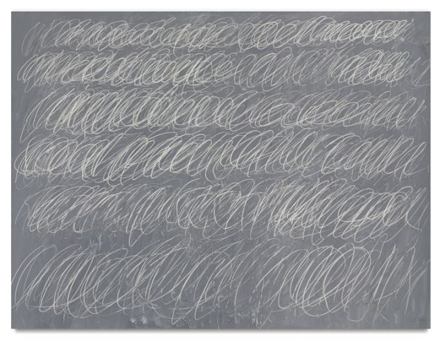 Cy Twombly's Untitled (New York) from 1968. (Photo: Courtesy of Sotheby's)