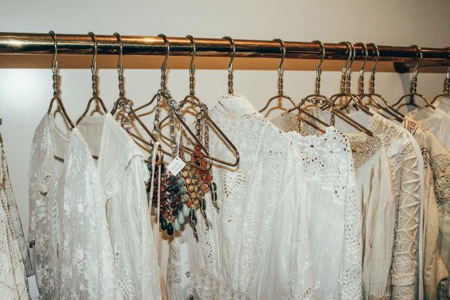 The racks of vintage apparel (Photo: Courtesy DANNIJO).