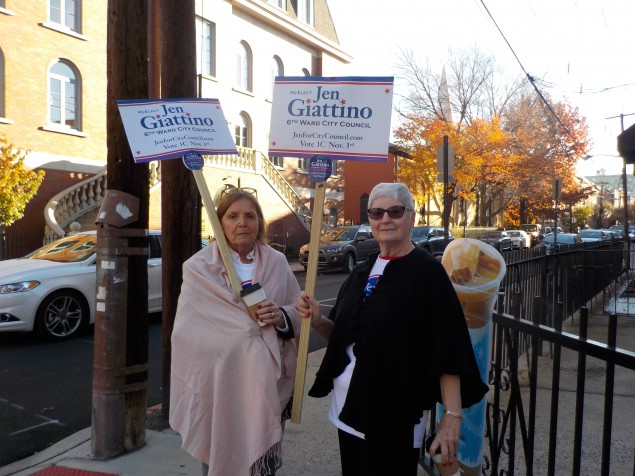 Giattino's mother (left) and aunt.