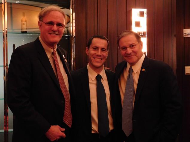 Bramnick (right) thinks NJ Republicans shouldn't be dismissed despite losses.