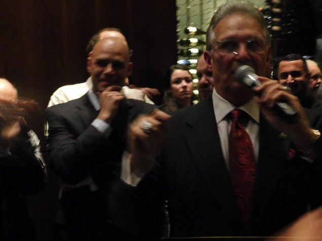Bergen County Democratic Chairman Lou Stellato.