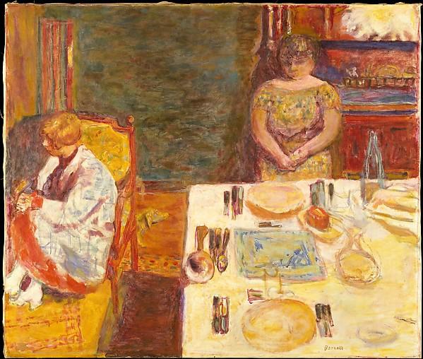 Pierre Bonnard Before Dinner 1924
