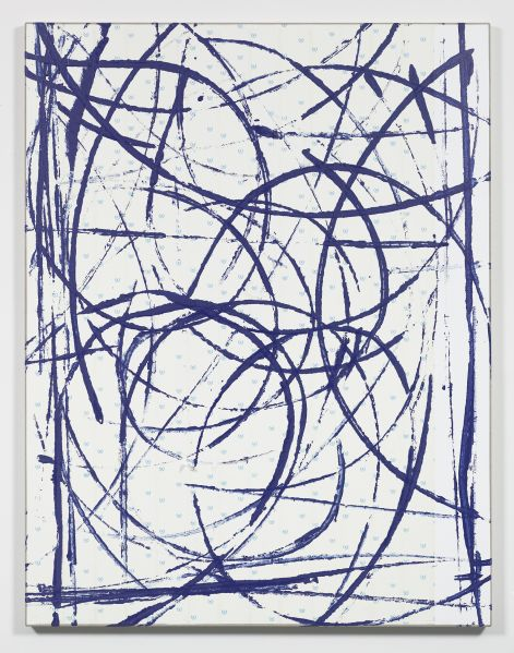Egan Frantz, Diagram Painting #17, 2015. (Photo: Courtesy of Michael Jon Gallery)