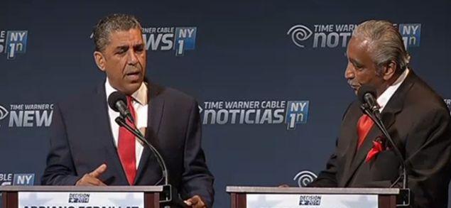 State Senator Adriano Espaillat. (Screengrab: NY1)