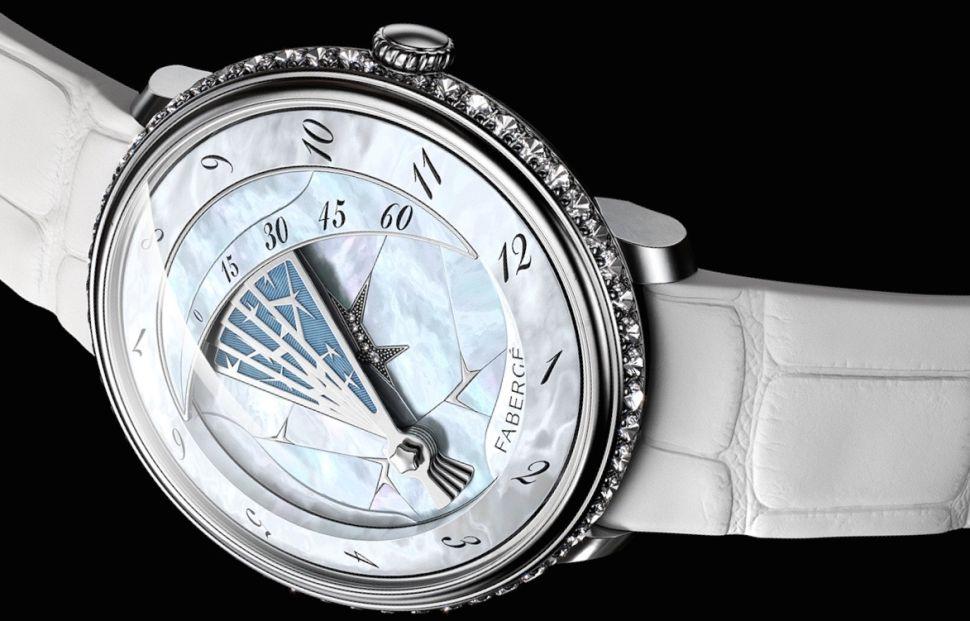 FabergÇ Lady CompliquÇe Winter Timepiece - Front
