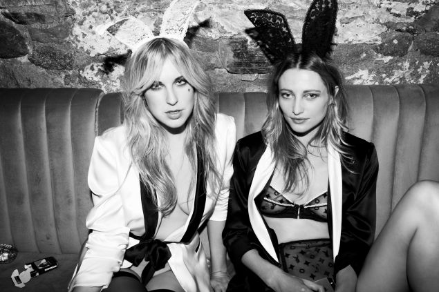 The Fleur du Mal x Playboy collab (Photo: Courtesy Fleur du Mal).