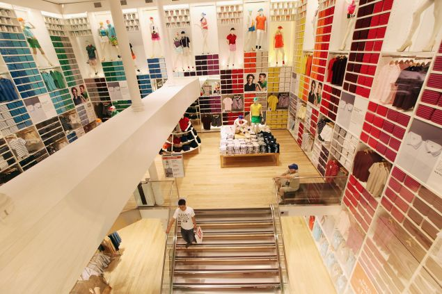 A Uniqlo store in Manhattan. (Photo: Mario Tama/Getty Images)