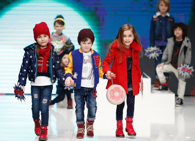 Child models at work (Photo: Getty Images).