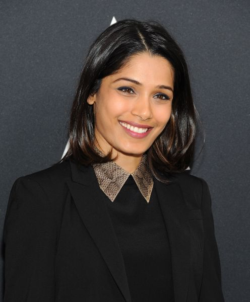 BEVERLY HILLS, CA - NOVEMBER 04: Actress Freida Pinto attends the Academy Nicholl Fellowships Screenwriting Awards at Samuel Goldwyn Theater on November 4, 2015 in Beverly Hills, California. (Photo by Angela Weiss/Getty Images)