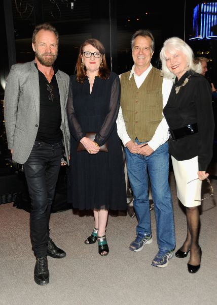 """attends as Stephen Hannock & Sting celebrate their new book """"The Last Ship"""" at Hearst Tower on November 16, 2015 in New York City."""