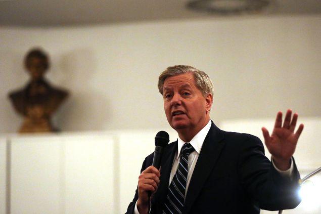 Sen. Lindsey Graham. (Photo by Spencer Platt for Getty Images)