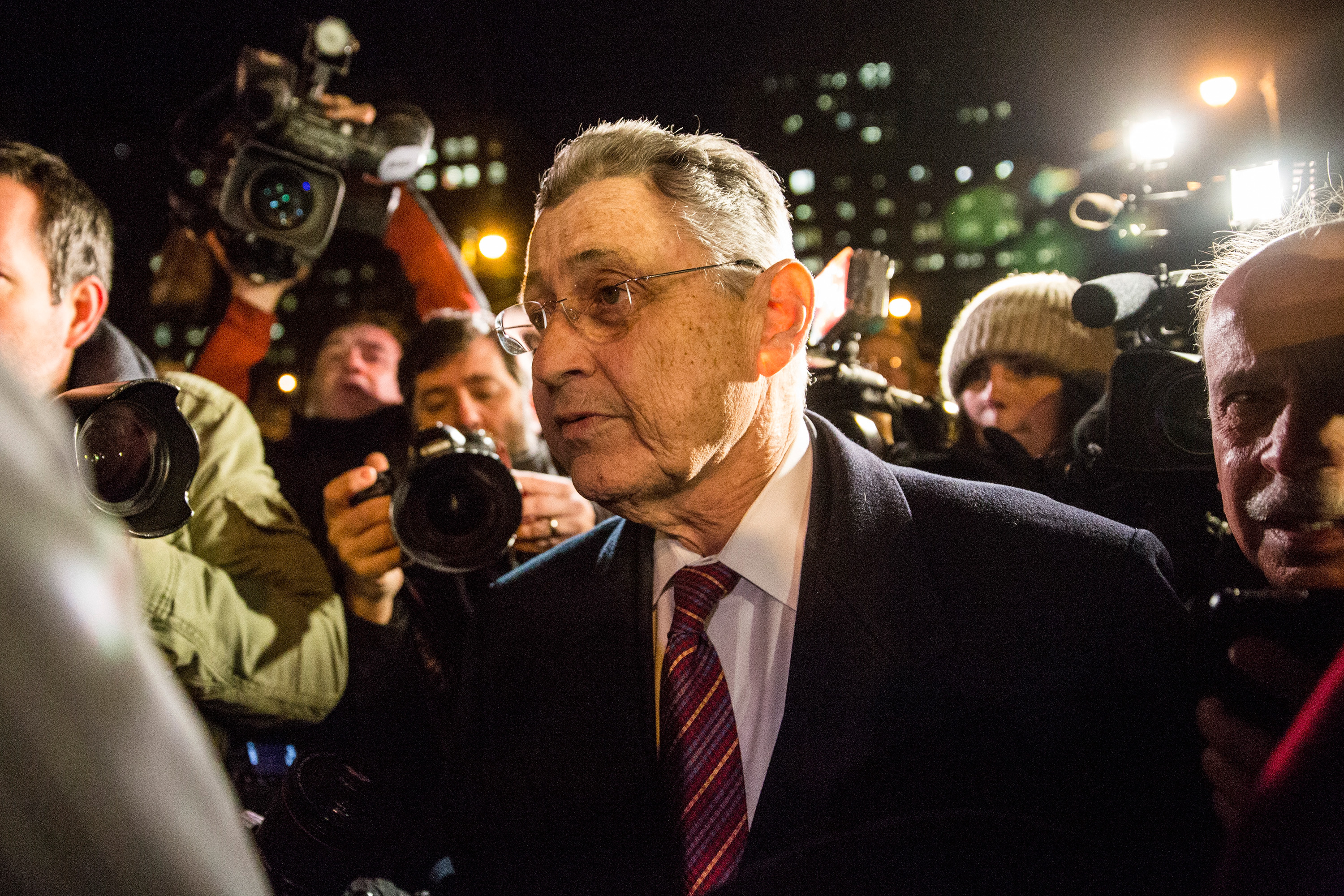 Former Assembly Speaker Sheldon Silver.