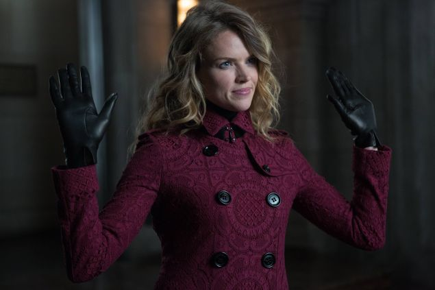 GOTHAM: L-R: Erin Richards in the ÒRise of the Villains: TonightÕs the NightÓ episode of GOTHAM airing Monday, Nov. 9 (8:00-9:00 PM ET/PT) on FOX. ©2015 Fox Broadcasting Co. Cr: Nicole Rivelli/FOX.