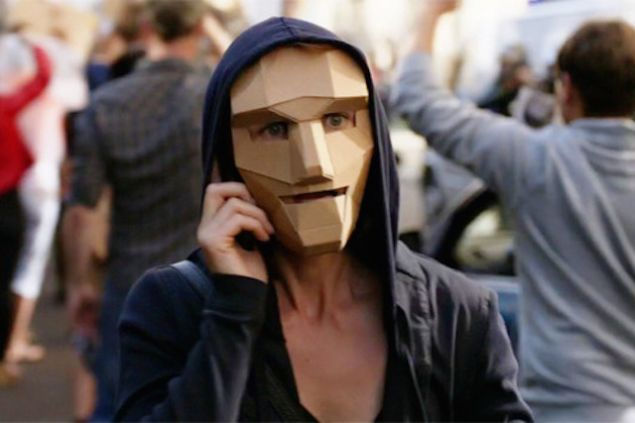 Not quite Guy Fawkes. (Showtime)
