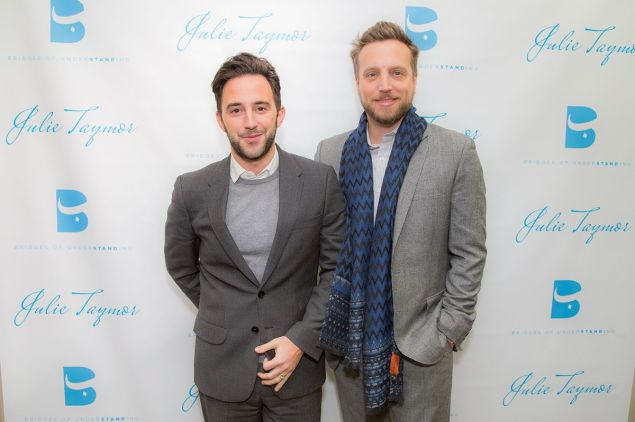Brandon Cardet-Hernandez and Ariel Foxman (Photo: Shoot Me Peter Photography).
