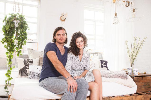 Elisa Marshall and Ben Sormonte (Photo: Emily Assiran for Observer).
