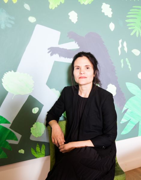 Heather Hubbs Painting: The Final Battle by Scott Reeder Photo: Emily Assiran for Observer