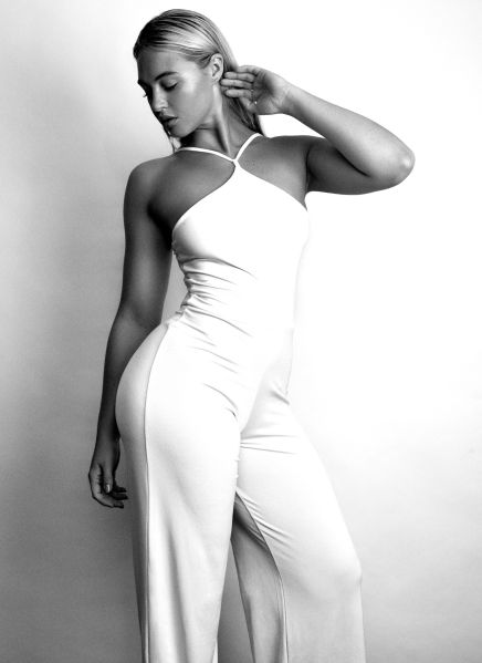 A modeling shot of Ms. Lawrence (Photo: Rafael Clemente).