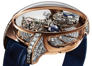 Jacob & Co. Astronomia Gravitational Tourbillon Baguette Diamonds 2