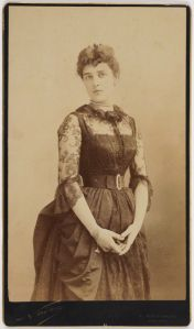 Jennie from the block: Winston Churchill's mother, Jeannette Jerome, born on Henry Street in 1854. (National Portrait Gallery London/Wikipedia)