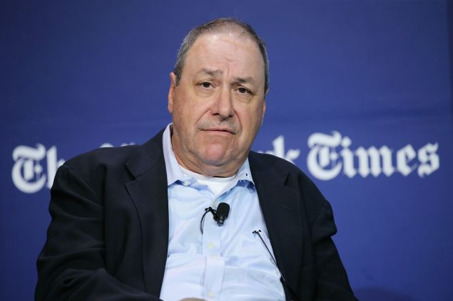 Joe Nocera stepped down from his perch as an opinion columnist at the Times this week. (Photo: Getty Images)