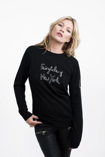 Kate Moss in her Bella Freud creation (Photo: Matt Irwin).