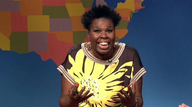Leslie Jones, Breaking Bad aficionado. (NBC)