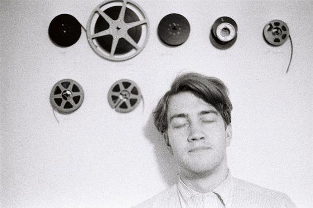David Lynch With Film Reels, by C.K. Williams