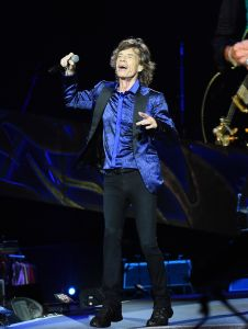 Mick Jagger performing in Rolling Stones concert. (Photo: Jason Merritt/Getty Images)