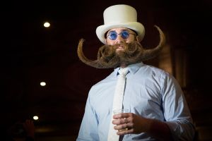 Contestant Adam Gazda, a four-state winner. (Photo: Kaitlyn Flannagan for Observer)