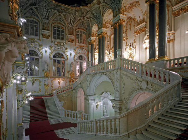 Ambassador Staircase. © The State Hermitage Museum, 2014. Photo by Eugene Sinayaver