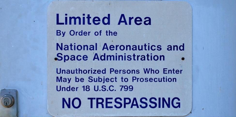 Entrance to the Payload Hazardous Service Facility (Photo: Robin Seemangal)