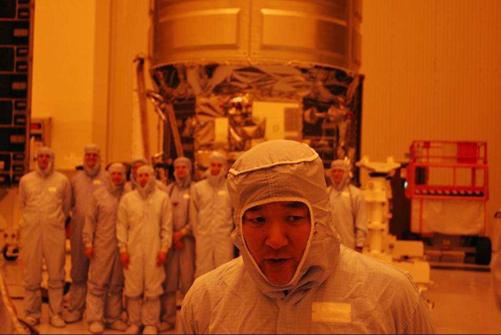 Orbital ATK Mission Manager and former Astronaut Daniel M. Tani (Photo: Robin Seemangal)