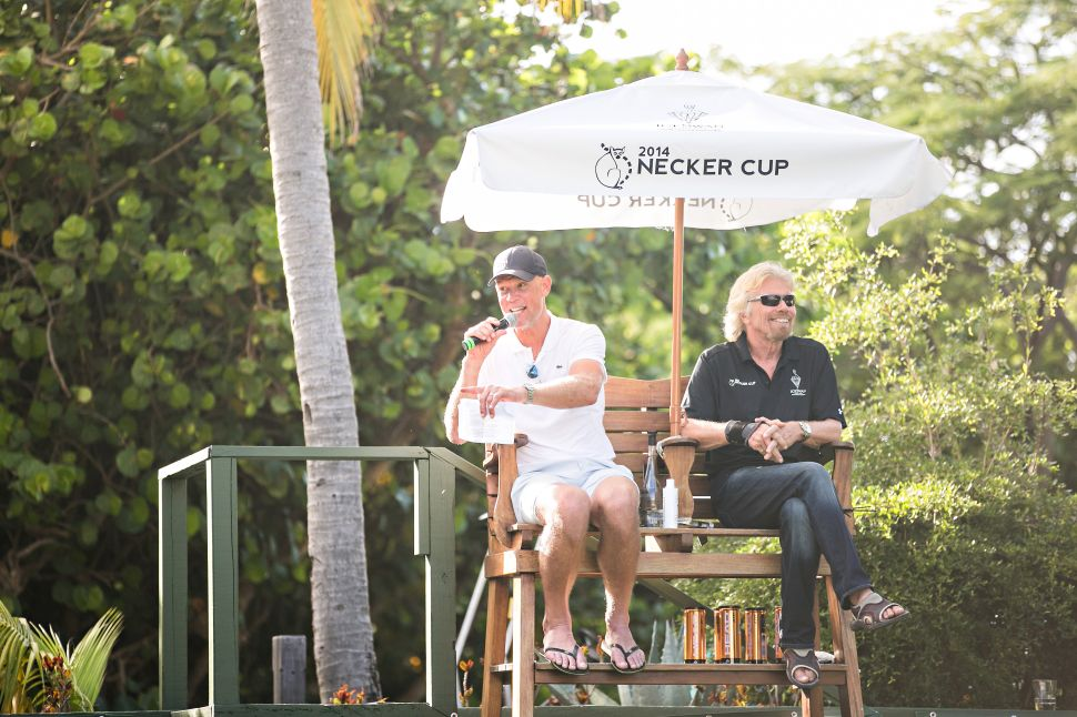 Richard Branson (Photo: Necker Cup).