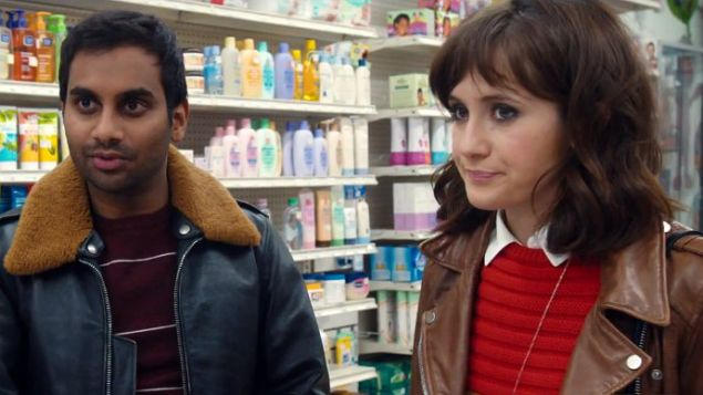 Aziz Ansari and Noël Wells on an awkward date in Master of None. (Netflix)
