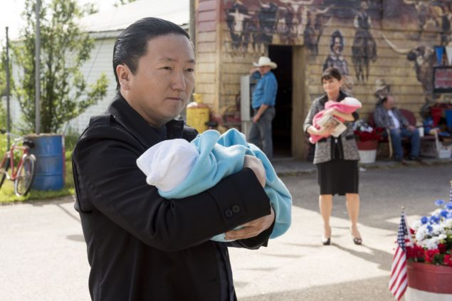 "HEROES REBORN -- ""June 13th - Part Two"" Episode 108 -- Pictured: Masi Oka as Hiro Nakamura -- (Photo by: Christos Kalohoridis/NBC)"