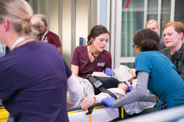 """CHICAGO MED -- """"The Green Branch"""" Episode 101 -- Pictured: Torrey Devitto as Natalie Manning -- (Photo by: Elizabeth Sisson/NBC)"""
