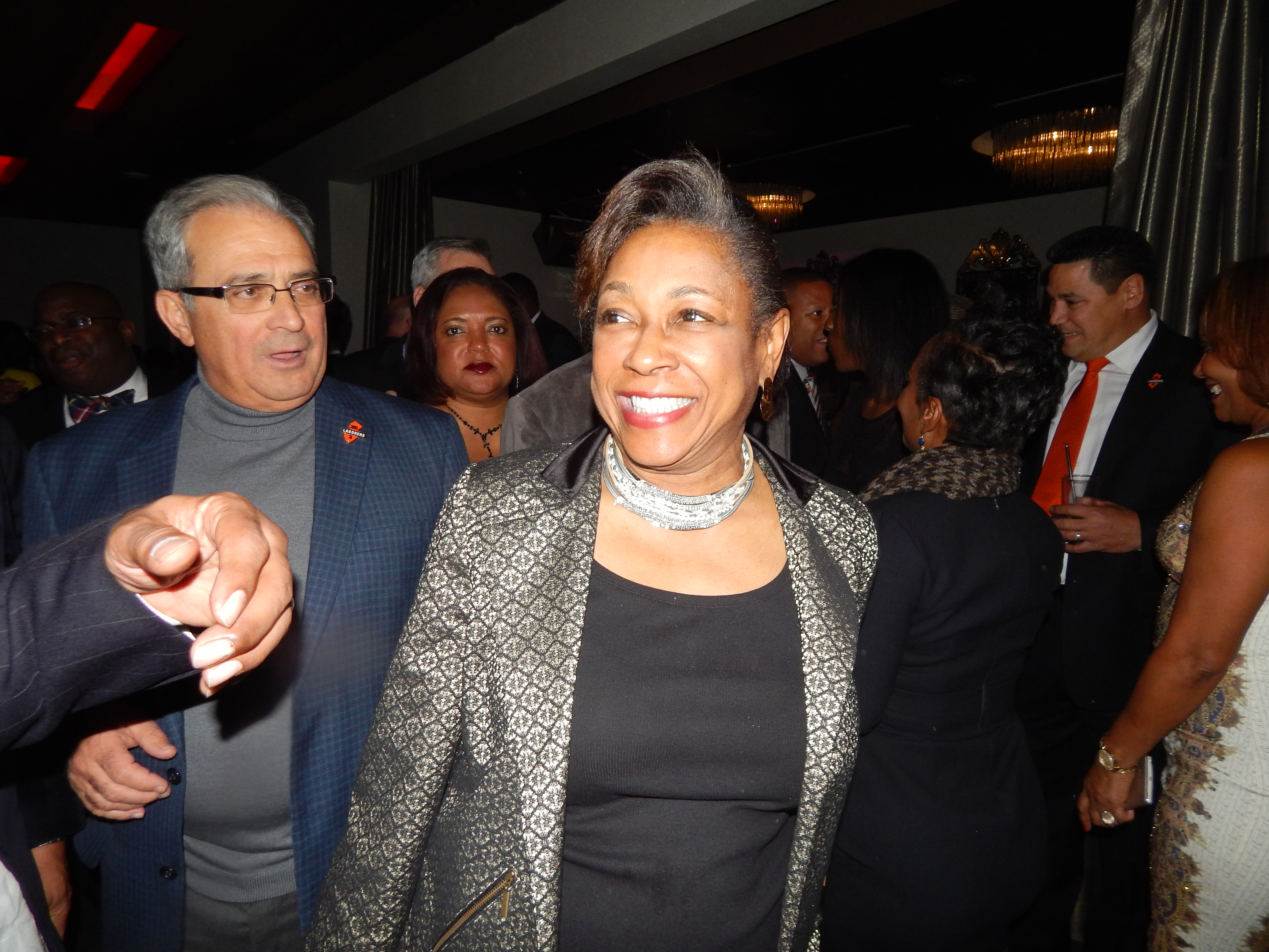 State Senator Sandra Cunningham (D-31) is allegedly weighing a run for mayor in Jersey City.