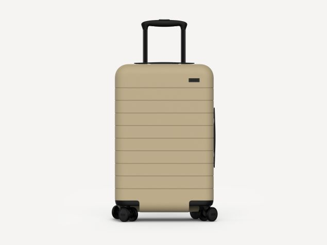 The suitcase in Sand (Photo: Courtesy Away).