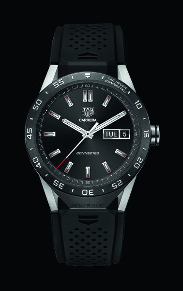 The Tag Heuer Connected Watch (Photo: Courtesy Tag Heuer).