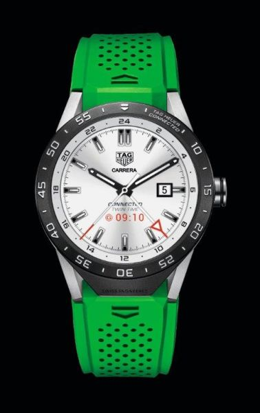 The Tag Heuer Connected Watch (Photo: Courtesy Tag Heuer)