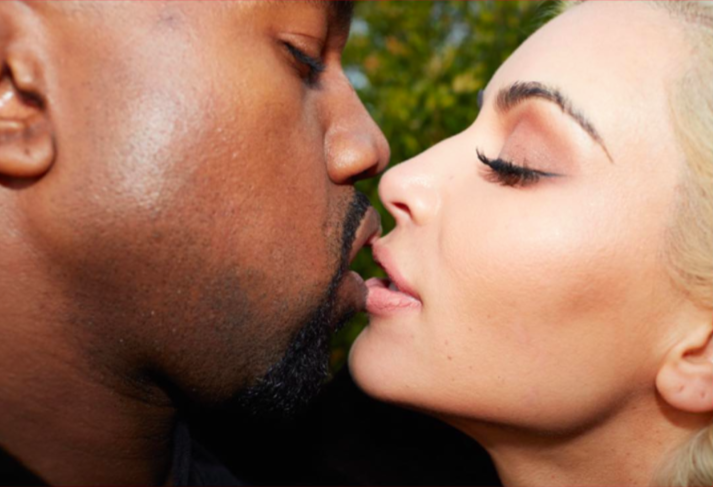Kanye West and Kim Kardashian are in love. (Photo: Courtesy of Phillip's and Instagram)