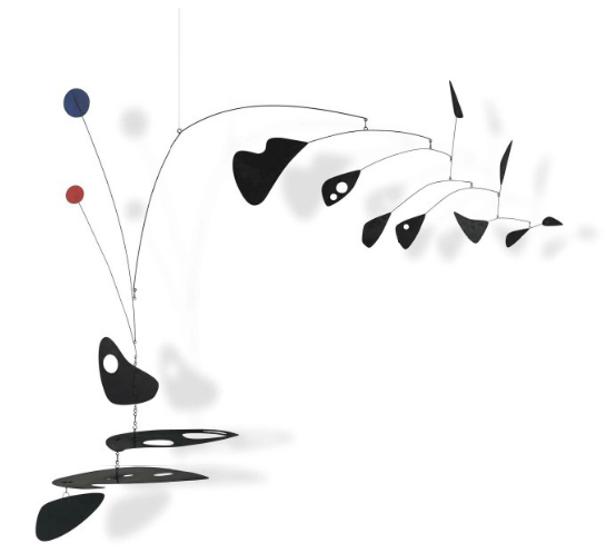 Alexander Calder, Vertical out of Horizontal, 1948. (Photo: Courtesy of Christie's)